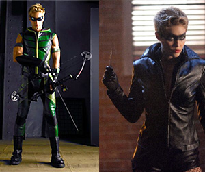 Archer Vert (Justin Hartley) et Black Canary (Alaina Huffman)